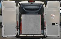 02_The Ducato's loading ramp in closed position