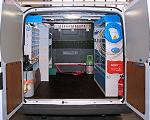 van equipment for Transit in Usa and Canda by Syncro System