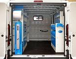 Van racking for Ram Pro Master