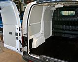 Syncro System body liners in a Nissan NV200