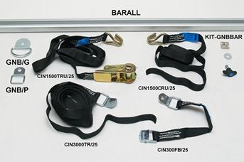 The complete bar and strap system