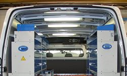 01_A van racking system with accessories