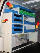 02_Offset racking lets you exploit all the space in your van